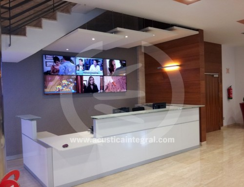 Company Reception Area