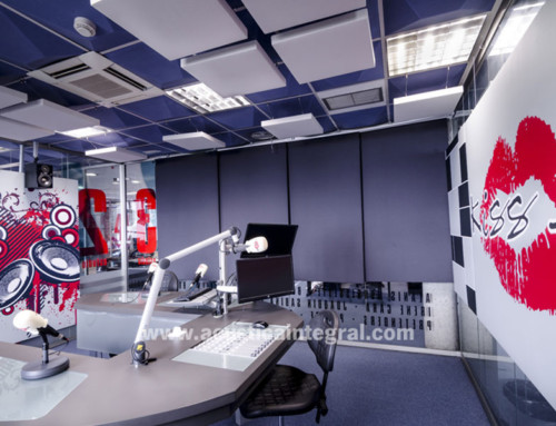 Acoustic treatment in Radio Studios