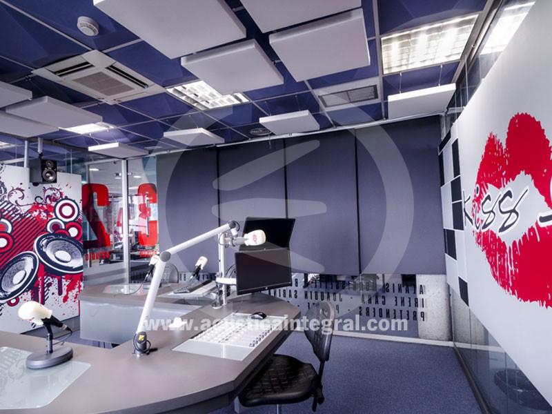 Acoustic treatment in Radio Studios