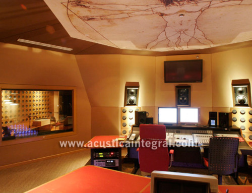 Acoustic Treatment in Professional Recording Studio