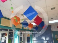 Acoustic treatment in Primary School