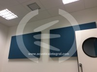 Acoustic treatment for Sound Studios in Madrid.