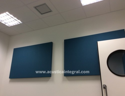Acoustic treatment for Sound Studios in Madrid