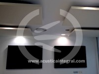 Acústica Integral has performed the acoustic conditioning in the customer service offices at a university in Catalonia