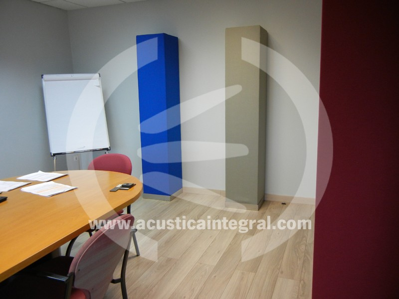 Acoustic absorbent decorative material